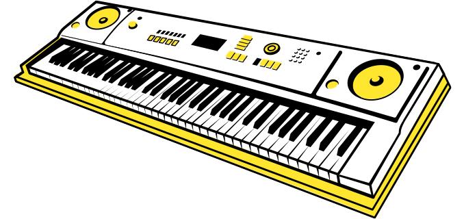 피아노배경모바일